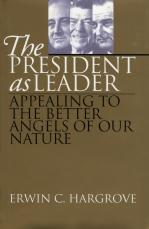 The President as Leader