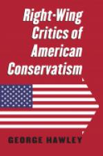 Right-Wing Critics of American Conservatism