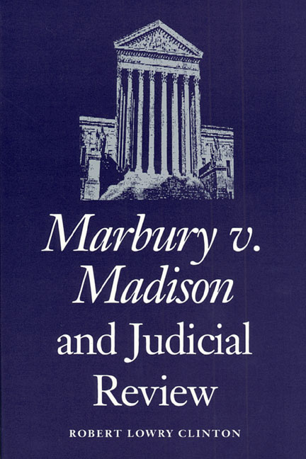 Judicial College Guidelines >> Marbury v. Madison and Judicial Review