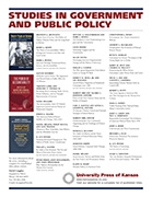 Studies in Government and Public Policy series flyer